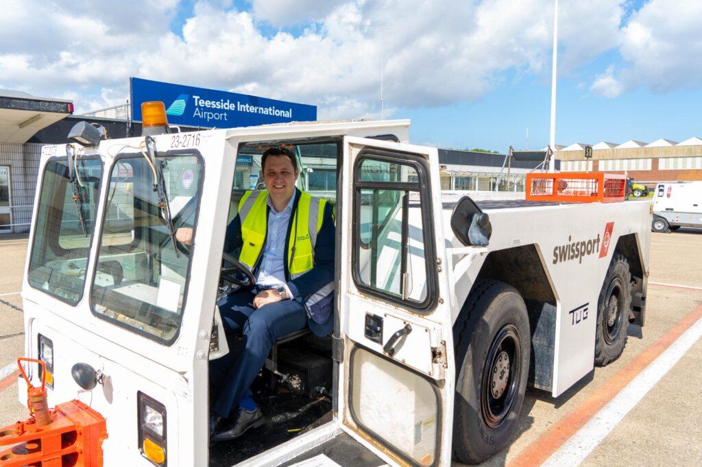 teesside airport hydrogen transport