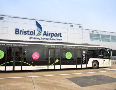 Bristol Airport Trials Electric Airside Bus