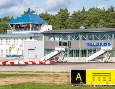 Environmentally Friendly Solutions Implemented at Palanga Airport