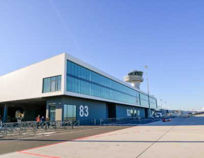 Bordeaux Airport Inaugurates Its 1st High Environmental Quality Facility