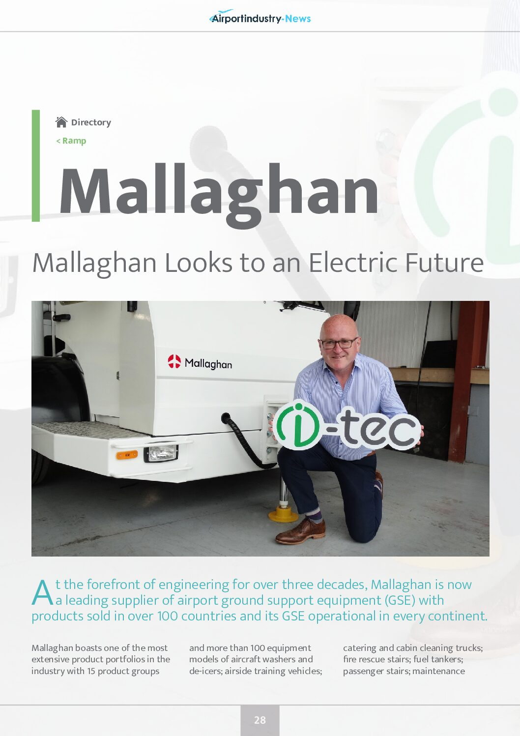 Mallaghan Looks to an Electric Future