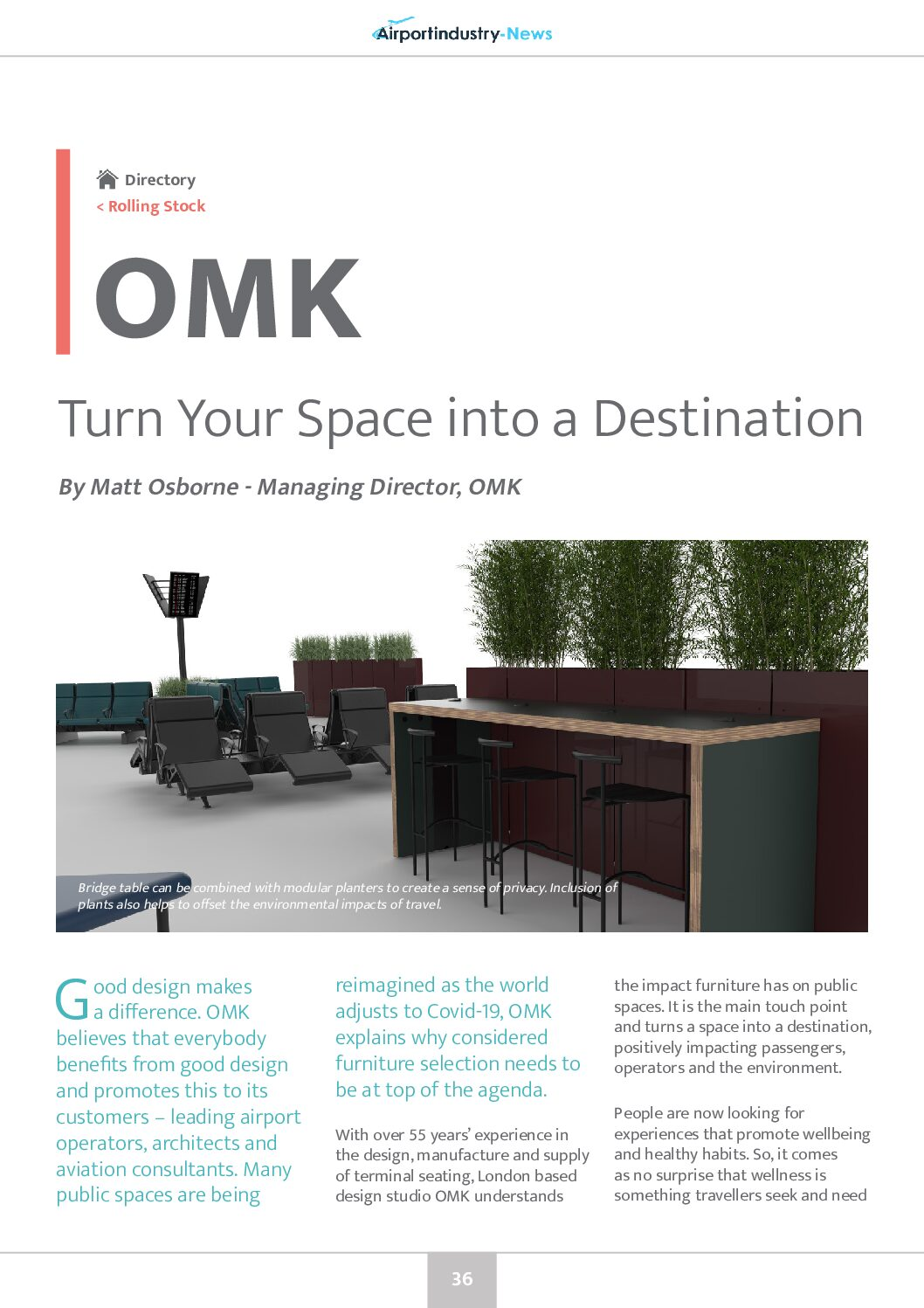 Turn Your Space into a Destination with OMK