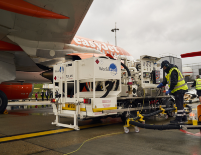 VINCI Airports Introduces Sustainable Aviation Fuel at Gatwick Airport