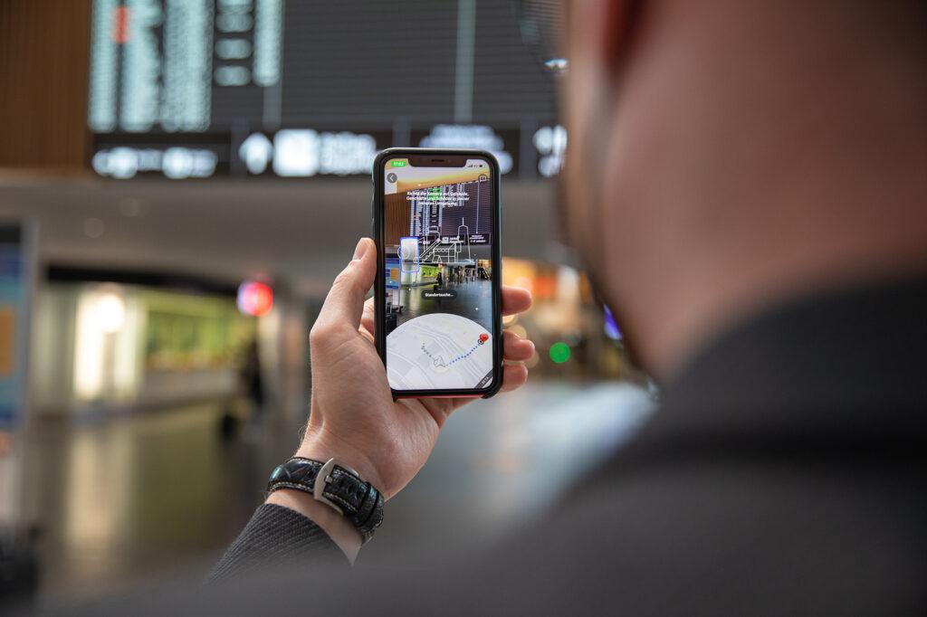 zurich airport google maps