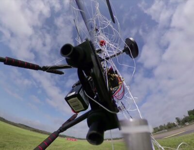 Project FALKE: Successful Interception of Illegally Flying Drones at HAM